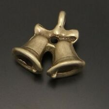 30 Pieces Antiqued Bronze Alloy Nice Bell Charms Pendants Fashion Jewelry 03610