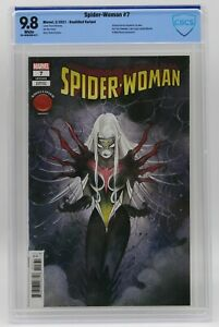 Spider-Woman (2020) #7 Peach Momoko Knullified CBCS 9.8 Blue Label White Pages