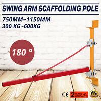 Schwenkarm Halterung Seilzug 600kg 750mm~1150mm Seilwinde Seilhebezug Träger