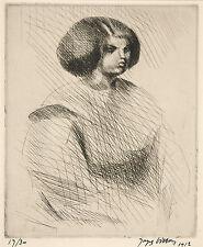 Jacques Villon Reproduction: The Little Mulatto - Fine Art Print