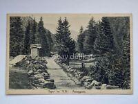 COGNE Aosta passeggiata vecchia cartolina