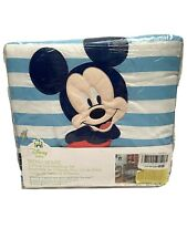 Disney Baby Mickey Mouse 3 Piece Crib Bedding Set Appliqued Comforter