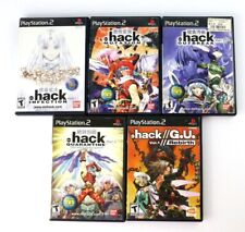 PS2 .hack Vol 1-4 & Dot hack  G.U. Vol 1 lot
