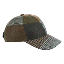 Irish -Donegal Tweed Baseball Cap -Patchwork Check - Ireland - Unisex