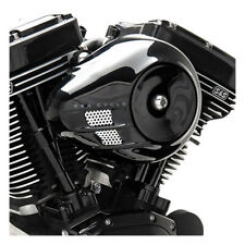 S & S Stealth Air Filters Airstream Black for Harley-Davidson M8 18-20