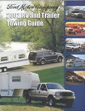 Original/Official 2002 Ford RV & Trailer Towing Guide Brochure News