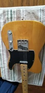 Fender Telecaster Guitar 1975 Blonde Great Condition