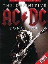 THE DEFINITIVE AC/DC SONGBOOK GUITAR TAB SHEET MUSIC SONG BOOK *UPDATED EDITION*