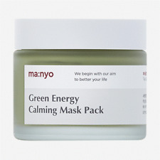 Manyo Factory Green Energy Calming Mask Pack 75ml Soothing Cooling K-Beauty