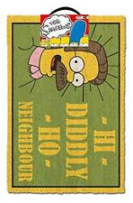THE SIMPSONS (HI DIDDLY HO NEIGHBOUR) Doormat * FAST UK DISPATCH *