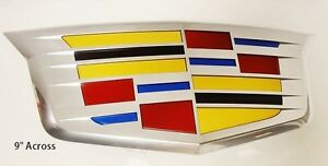 Cadillac CT6 GRILLE CREST OEM FACTORY GM NEW STYLE CHROME
