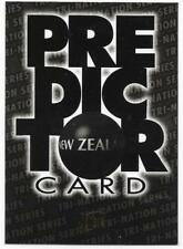 1996 Futera Rugby Union PREDICTOR (PC3) New Zealand Sample