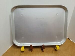 Vintage Sonic Drive In TraCo Dallas Embossed Metal Car Hop Tray For Car Window