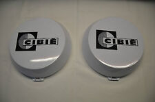 GENUINE CIBIE OSCAR WHITE DRIVING SPOT LIGHT COVERS 4WD ***BRAND NEW***