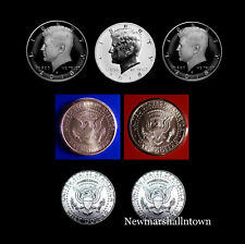 2018 P+D+S+S+S Kennedy Reverse Silver Clad Mint Proof + PD Mint Set and Rolls