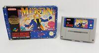 Young Merlin Super Nintendo SNES Game PAL UK Boxed Missing Manual