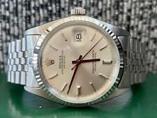 Vintage Rolex Datejust 1601 White Gold & Steel Watch - Box & Paperwork Mint 1963