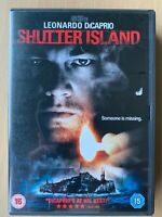 Shutter Island DVD 2010 Dennis Lehane Thriller Film Movie w/ Leonardo DiCaprio