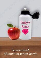 Personnalisé De retour à l'école bouteille d'eau 600 ml Sport Gym École Enfant C...