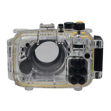 Mcoplus 40M/130ft Housing Waterproof Diving Case for Sony DSC-RX100 Mark II