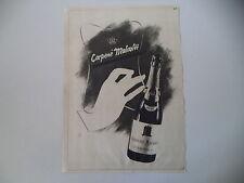 advertising Pubblicità 1942 CARPENE' MALVOLTI - CONEGLIANO VENETO