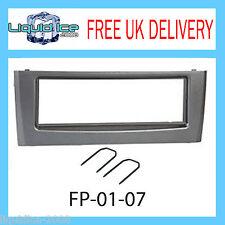 FP-01-07 Fiat Grande Punto Dark Grey Fascia Facia Adaptor Panel Free Keys PC5-83
