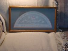 Framed & glassed Bas Relief Religious Picture by Karen Smith 1987 Signed Sp Ed.
