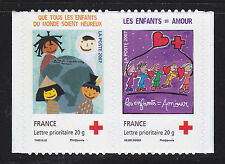FRANCE AUTOADHESIF N°  146 & 145 ( 4126 & 4125 ) Paire P145 ** MNH, TB