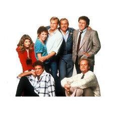 Cheers Ted Danson as Sam Malone Posing with Cast 8 x 10 inch photo