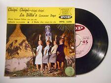 CHIPI CHIPI : LA BILLO'S / CARACAS BOYS ♦ 45 TOURS EP ♦