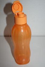 Tupperware Eco Easy 750ml Trink-Sportflasche Eco Easy eine Flasche NEU orange