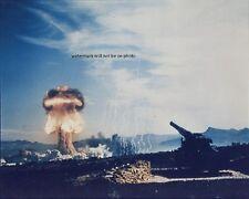 "Frenchman's Flat Atomic Cannon Test Mushroom Cloud Blast 8""x 10"" Photo"