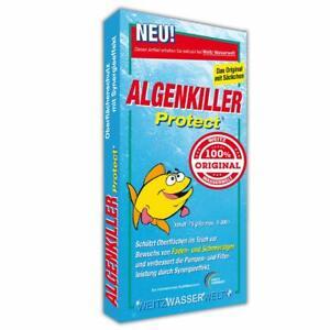 ALGENKILLER Protect® - ACHTUNG unsere Nr. 1 das ORIGINAL mit dem gelben Fisch