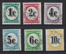 Cats Postage Due British Colony & Territory Stamps