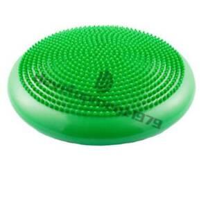 Yoga Balance Board Pilates Disc Gym Stability Air Cushion Wobble Pad w/ Pump
