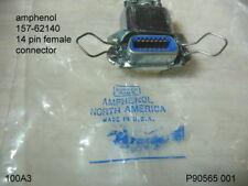 AMPHENOL 157-62140 14 PINS FEMALE CONNECTOR
