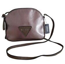 NWT GUESS Women's CrossBody Purse, Handbag. Shoulder Bag, Pewter $58