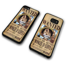 Wanted Poster Monkey D Luffy Pirate One Piece Anime Phone Case Cover