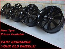 "Black 20"" Range Rover Evoque Land Rover Discovery Sport 9001 Alloy Wheels"