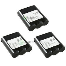 3 NEW Cordless Home Phone Battery for Panasonic P-P511 ER-P511 HHR-P402 400+SOLD