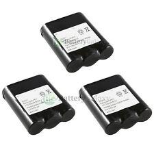 x3 Phone Battery for Panasonic P-P511 ER-P511 HHR-P402