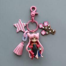 Sailor Moon 20th anniversary Dark Queen Moon Car Key Ring Bag Pendant Keyrings