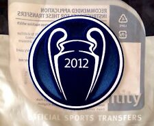 2012 Chelsea UCL CHAMPIONS Football Lextra SensCilia SportingiD Badge Patch