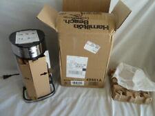 Hamilton Beach 49981A Coffee Maker Single Serve Scoop - Silver -