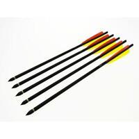 """5 frecce in alluminio da 43 cm 16"""" per balestre"""