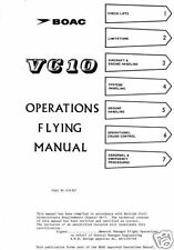 Vickers VC-10 VC10 1960's 70's Historic Manual BOAC VERY RARE PERIOD ARCHIVE