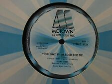 """DIANA ROSS ~ Your Love Is So Good For Me ~ 12"""" Single"""