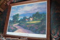 "Todd Williams signed and numbered Lithograph ""The Beauty of His Ways "" COA[art]"