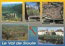 B53770 Le Val de Sioule train multi vues  france