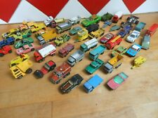 GROS LOT ANCIENNE VOITURE CAMION MATCHBOX LESNEY ANNEE 60 70 80
